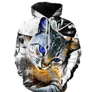 最新入荷!子猫好きな方に♡個性的子猫パーカー(パーカー)
