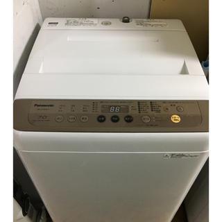 Panasonic - 高品質美品パナソニック洗濯機7kg 2017 年製 大阪、大阪近郊送料無料