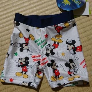 ディズニー(Disney)の新品 90cm ディズニー ミッキー スイムパンツ 水着(水着)