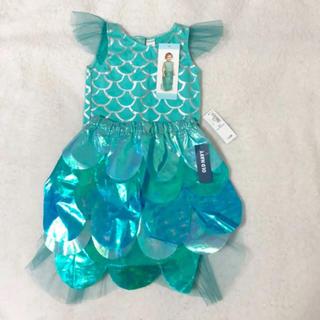 オールドネイビー(Old Navy)の新品未使用タグ付き 人魚の可愛い子供お洋服 オールドネイビー(ワンピース)