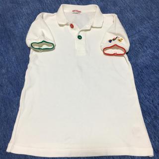 ミキハウス(mikihouse)のポロシャツ 白(Tシャツ/カットソー)