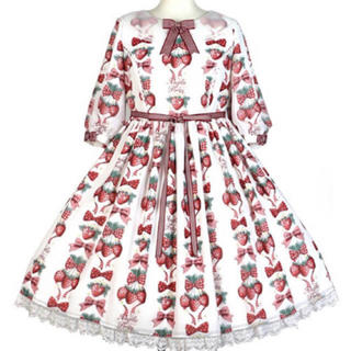 Angelic Pretty - angelic pretty strawberry doll ワンピース