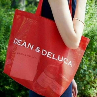 ディーンアンドデルーカ(DEAN & DELUCA)のDEAN&DELUCA メッシュ トートバッグ(トートバッグ)