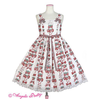 Angelic Pretty - angelic pretty strawberry doll ジャンパースカート