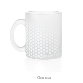 ルイヴィトン(LOUIS VUITTON)の【新品】FONDATION LOUIS VUITTON マグカップ クリア 凹み(グラス/カップ)