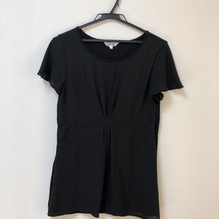 アルファキュービック(ALPHA CUBIC)のアルファーキュービック 黒 半袖(カットソー(半袖/袖なし))
