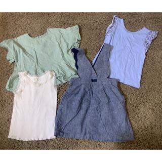 チャオパニックティピー(CIAOPANIC TYPY)の110女の子4点セット(Tシャツ/カットソー)