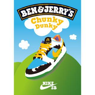 ナイキ(NIKE)のBen & Jerry's×SB Dunk Low Chunky Dunky(スニーカー)