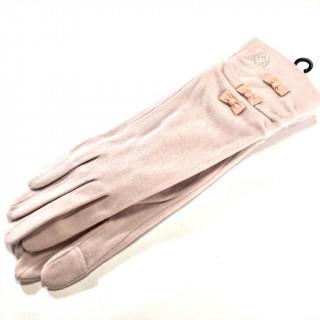 クレイサス(CLATHAS)の新品 スマホ対応  ロング クレイサス ニット手袋 3色在庫アリ☆あったか繊維(手袋)