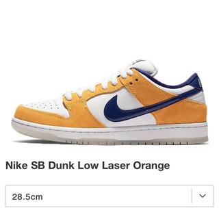 ナイキ(NIKE)のNIKE SB  DUNK LOW PRO レーザーオレンジ (スニーカー)