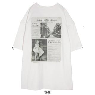 eimy istoire - eimy マリリンコラボ Tシャツ