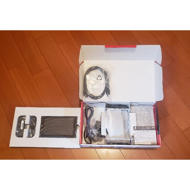 Nintendo Switch(ニンテンドースイッチ)の任天堂 Switch 本体 新型モデル 付属品完備 スイッチ エンタメ/ホビーのゲームソフト/ゲーム機本体(家庭用ゲーム機本体)の商品写真