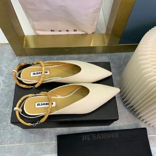 ジルサンダー(Jil Sander)のJil Sander サンダル ぺたんこ靴 ミュラーの靴(サンダル)