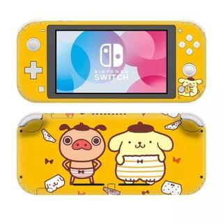 ニンテンドースイッチ(Nintendo Switch)のスイッチ ライト スキンシール ポムポムプリン Switch Lite(その他)