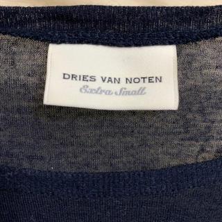 ドリスヴァンノッテン(DRIES VAN NOTEN)のDries Van Noten(ドリスヴァンノッテン) カットソー ネイビー(カットソー(長袖/七分))