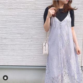 MISCH MASCH - 美品♡レースキャミワンピ