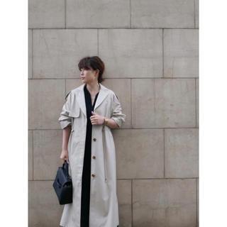 トゥデイフル(TODAYFUL)の新品未使用 ETRE TOKYO ドローストリングルーズトレンチコート(トレンチコート)