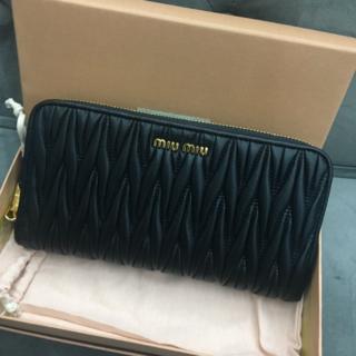 miumiu - miu miu ミュウミュウ 長財布