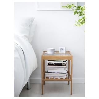 イケア(IKEA)の【新品】 NESNA ネスナ ベッドサイドテーブル 36x35 cm(コーヒーテーブル/サイドテーブル)