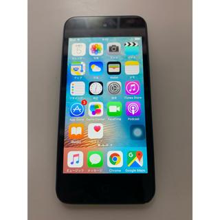 アイポッドタッチ(iPod touch)のiPod touch 第5世代 32GB スペースグレイ(ポータブルプレーヤー)