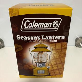 コールマン(Coleman)のコールマン シーズンズランタン 2020 黄色 新品未使用(ライト/ランタン)