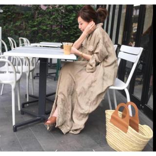 イエナ(IENA)の新品 HEREU へリュー Rafia Bag カゴバッグ(かごバッグ/ストローバッグ)