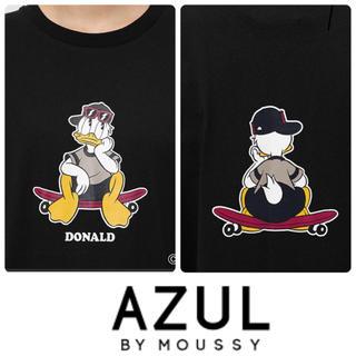 アズールバイマウジー(AZUL by moussy)のドナルドダックtee AZUL✖Disney 新品タグ付き 定価3.190円(Tシャツ(半袖/袖なし))