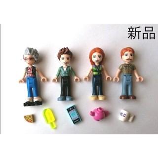 レゴ(Lego)のレゴフレンズ フィギュア 人形 フィグ 男の子 パパ ママ マダム 男性 女性(知育玩具)