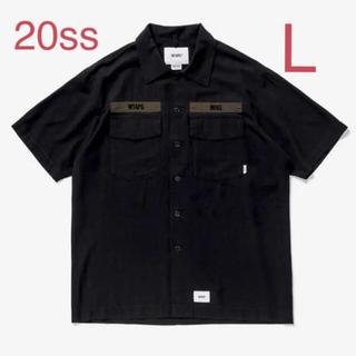 ダブルタップス(W)taps)の【黒/L】WTAPS 20SS BUDS SS / SHIRT. RAPO. (シャツ)