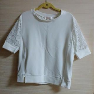 授乳服 ホワイト M(マタニティトップス)