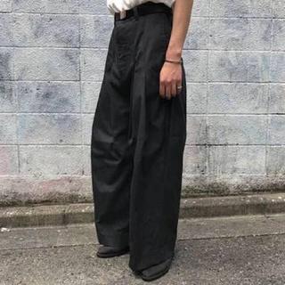 アンユーズド(UNUSED)のシンヤコズカ Shinya Kozuka バギーパンツ(スラックス)