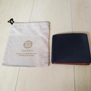 ガンゾ(GANZO)のGANZO THIN BRIDLE 小銭入れ付き 薄型二つ折り財布 [終売品](折り財布)