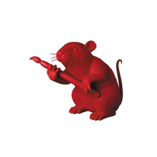 MEDICOM TOY - MCT TOKYO LOVE RAT (RED Ver.)