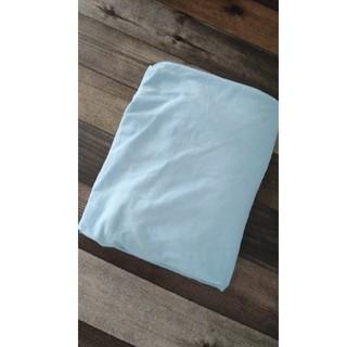 イケア(IKEA)のマットレス カバー ベビー用品 60×120 布団カバー 美品 水色(シーツ/カバー)