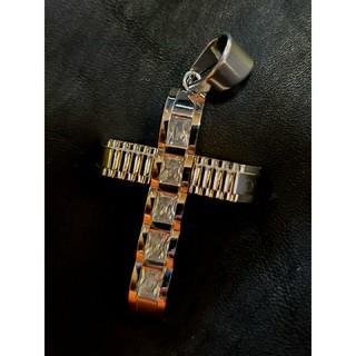アヴァランチ(AVALANCHE)のsilver Cross pendant top(ネックレス)