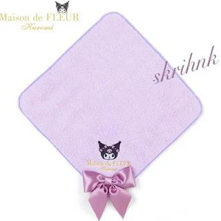 Maison de FLEUR - ♡メゾンドフルール♡サンリオ♡限定ハンドタオル♡ジルスチュアート♡アナスイ♡紫