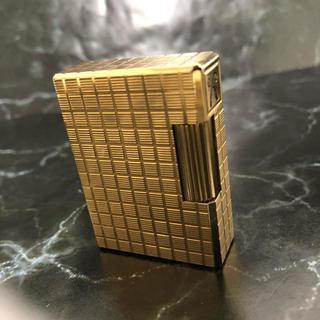 エステーデュポン(S.T. Dupont)の☆決算セール☆デュポン ライター ジッポ ローラガス ライン ゴールドプレート(タバコグッズ)