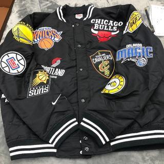 Supreme - Supreme NBA JACKET ナイキ 黒 新品 Mサイズ ジャケット