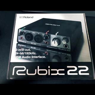 ローランド(Roland)のRubix22 Roland【ポップガード 付き】(オーディオインターフェイス)