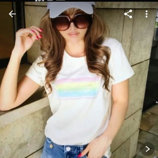 Rady - Radyレインボー柄Tシャツ