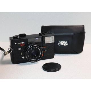 コニカミノルタ(KONICA MINOLTA)のKONICA C35 EF レンズ HEXANON 38mm F2.8 #009(フィルムカメラ)