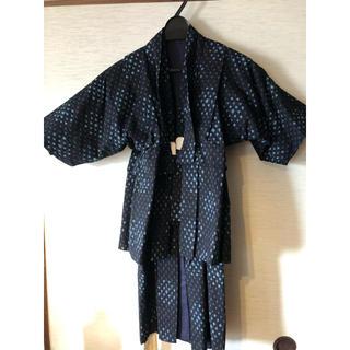 ☆とても可愛い かすりの着物 男児(和服/着物)