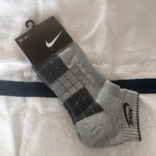 ナイキ(NIKE)のNIKE ナイキ ソックス 靴下 メンズ コットン混 Lサイズ 25〜27cm(ソックス)