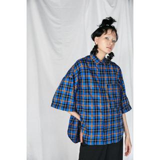 エンフォルド(ENFOLD)のENFOLD カラーシャツ(シャツ/ブラウス(半袖/袖なし))