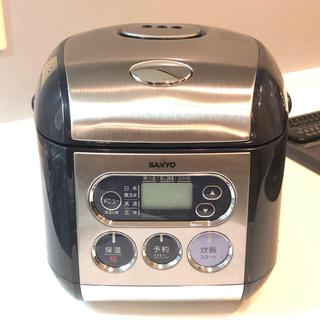 サンヨー(SANYO)のSANYO 炊飯器 3合炊き(炊飯器)