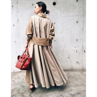 Ameri VINTAGE - 【 Ameri vintage 】Olive back frill jacket