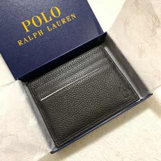 ポロラルフローレン(POLO RALPH LAUREN)のポロ ラルフ ローレン カードケース /Bro(名刺入れ/定期入れ)