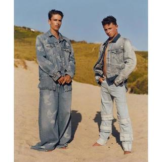 Jean-Paul GAULTIER - y/project 18ss triple cuffs jeans