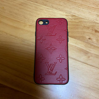 ルイヴィトン(LOUIS VUITTON)のルイビトン  モノグラム(iPhoneケース)