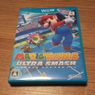 ウィーユー(Wii U)のマリオテニス ウルトラスマッシュ Wii U(家庭用ゲームソフト)
